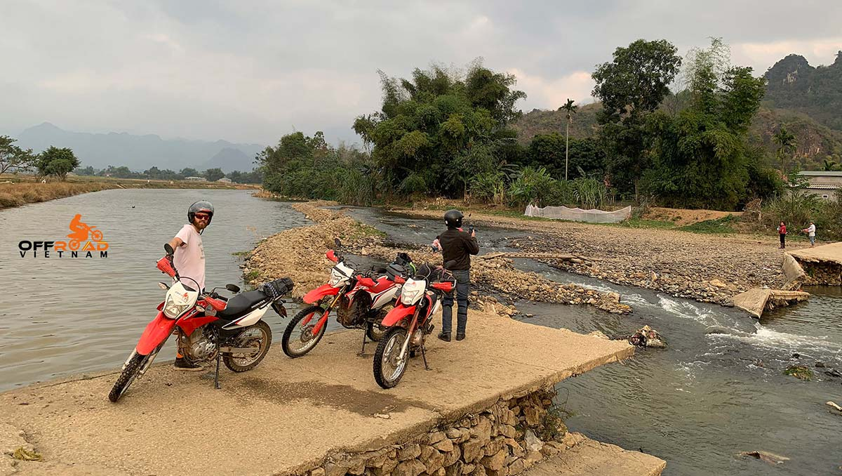 Hanoi Motorbike Rental - 14 Days Big North Loop: Phu Yen off-road motorbike ride.