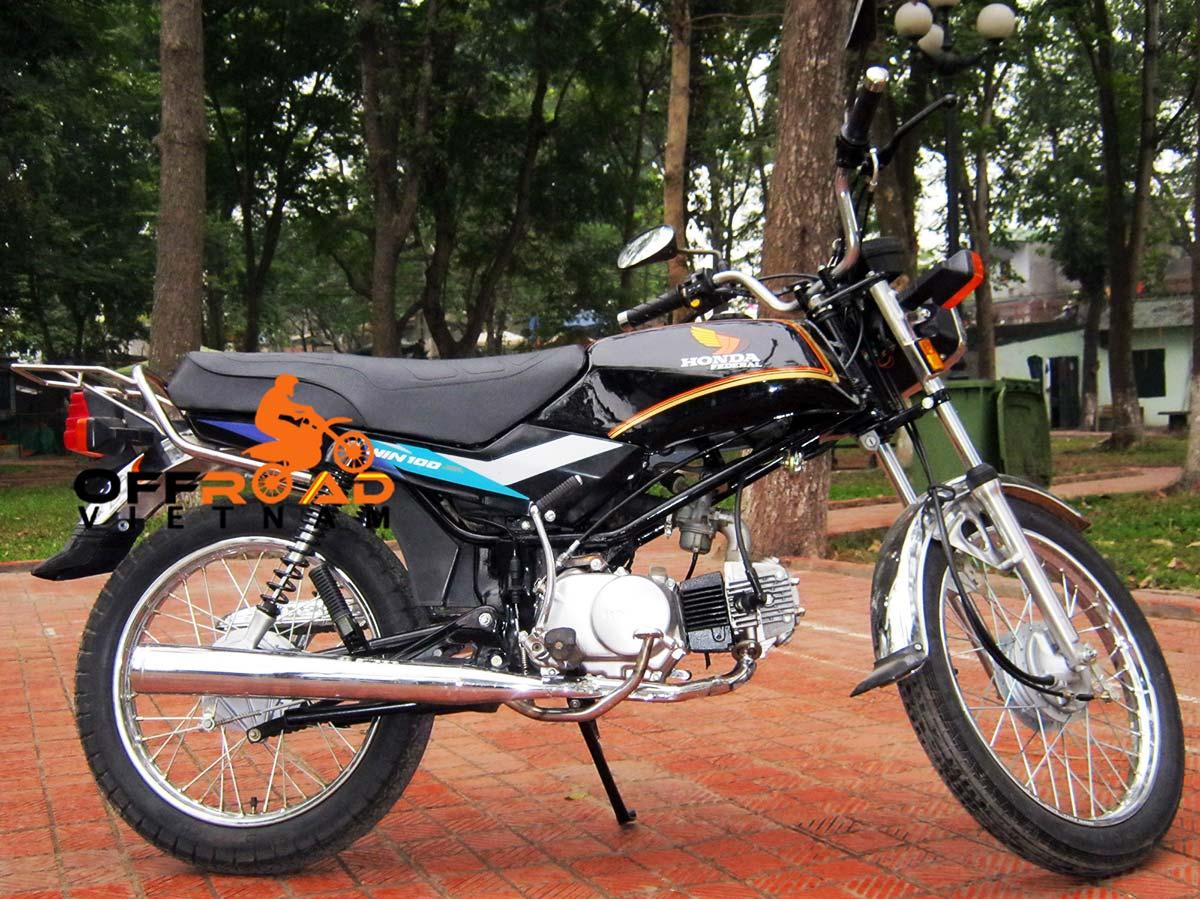 Honda manual clutch motorbike Win 100cc