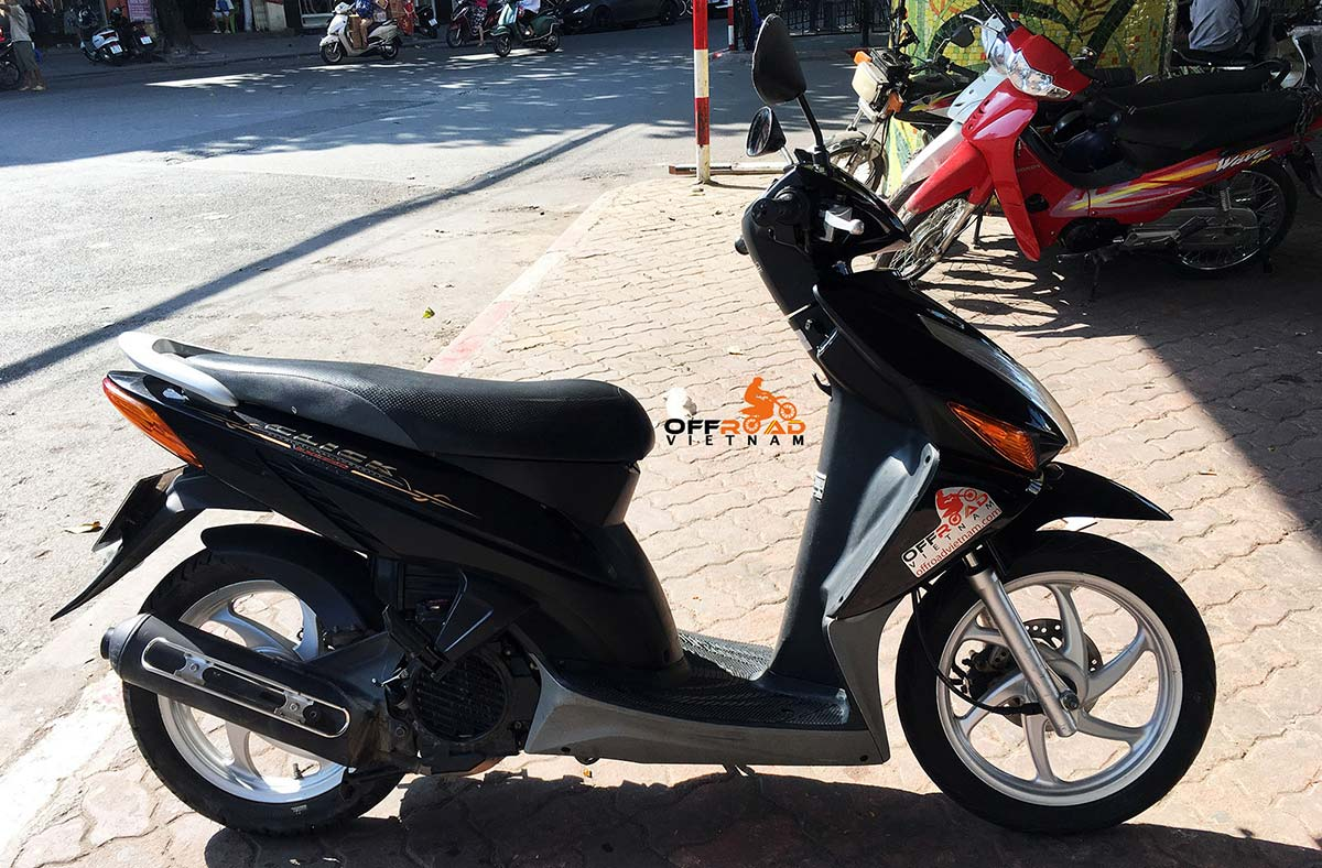Honda fully automatic scooter Click 110cc, discontinued