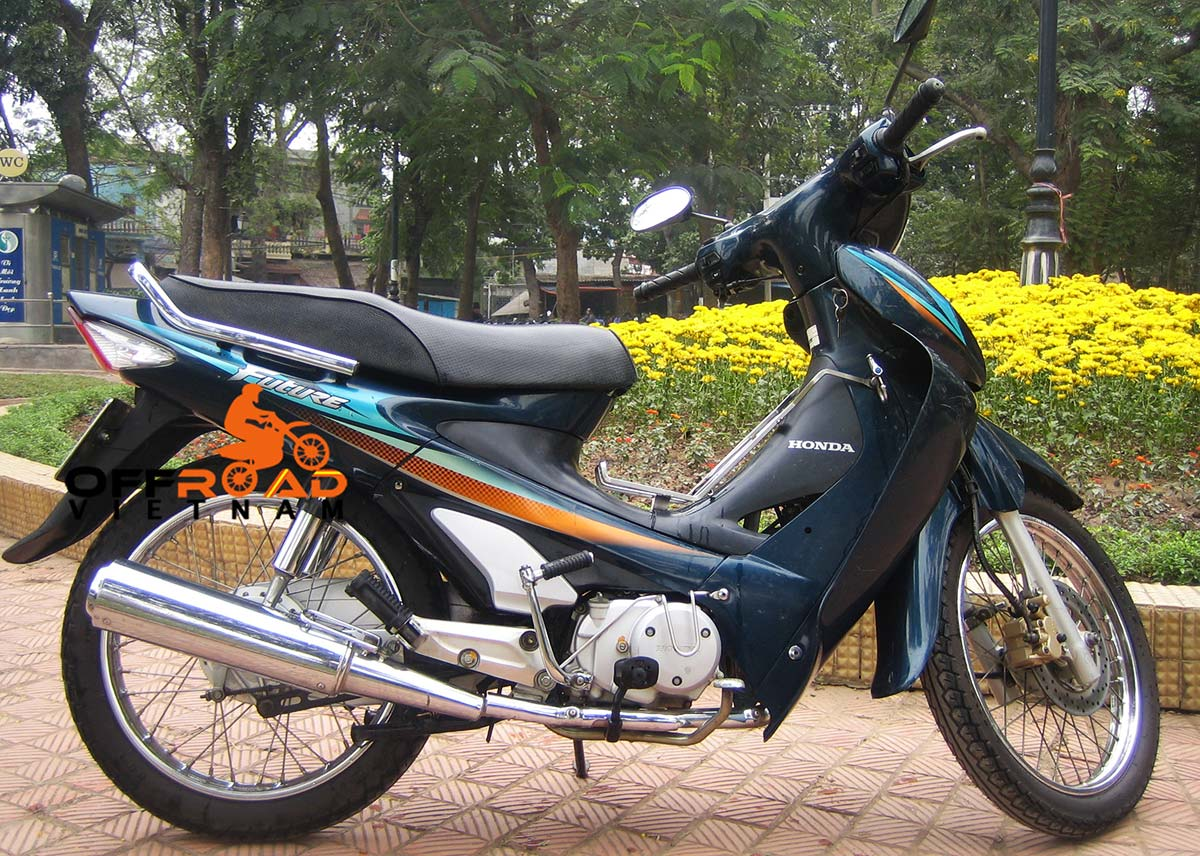 110cc Semi-Automatic Discontinued: Honda Future 110cc