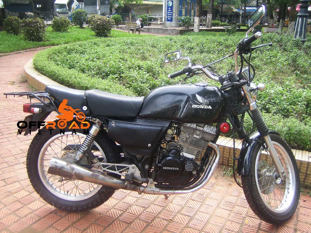 Hanoi Motorbike Rental - 250cc Motorcycles: Honda GB Clubman 250cc Hanoi Motorbike Rental discontinued