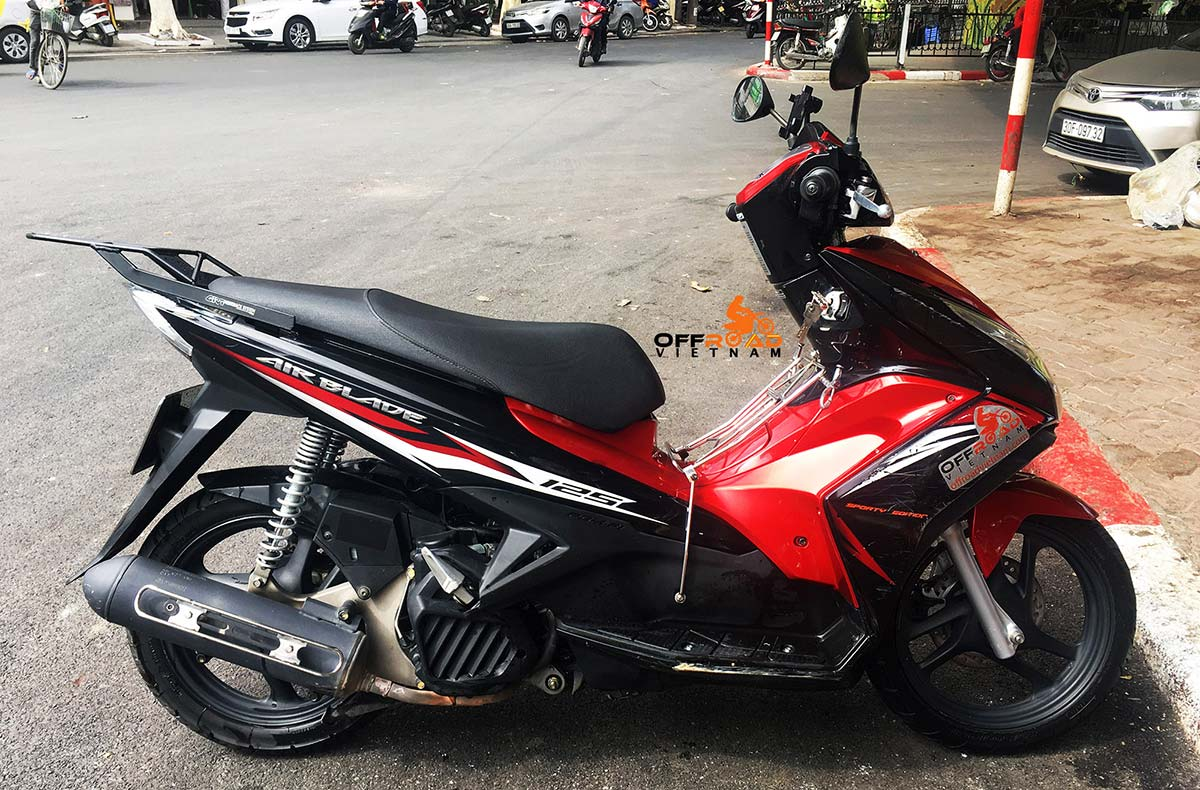 Hanoi Scooter Rental - Honda Air Blade 125cc rental in Hanoi for commuting.