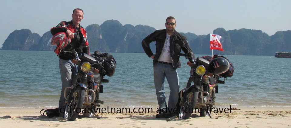 Hanoi Motorbike, Scooter Rental - Testimonials & Reviews: Mr. Bartek Damski and friend rented Honda GL160 road bikes