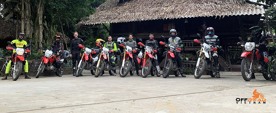 Off-road motorbikes 125-250cc for rent in Hanoi, Northern Vietnam like Honda XR125L, Honda XR150L, Honda CRF150L and Honda CRF250L.