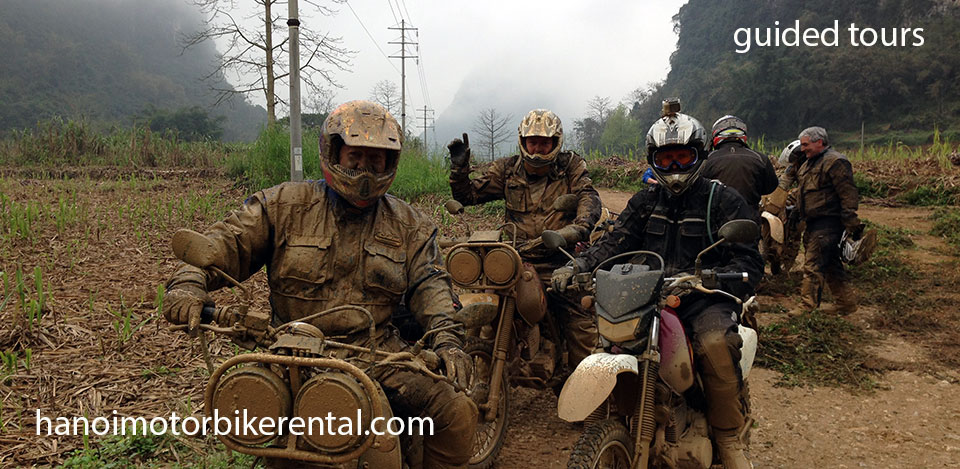 Guided motorcycle tours of Vietnam. Ride where few people set footprint.
