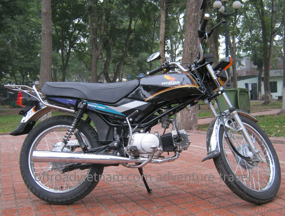 Honda manual clutch motorbike Win 100cc