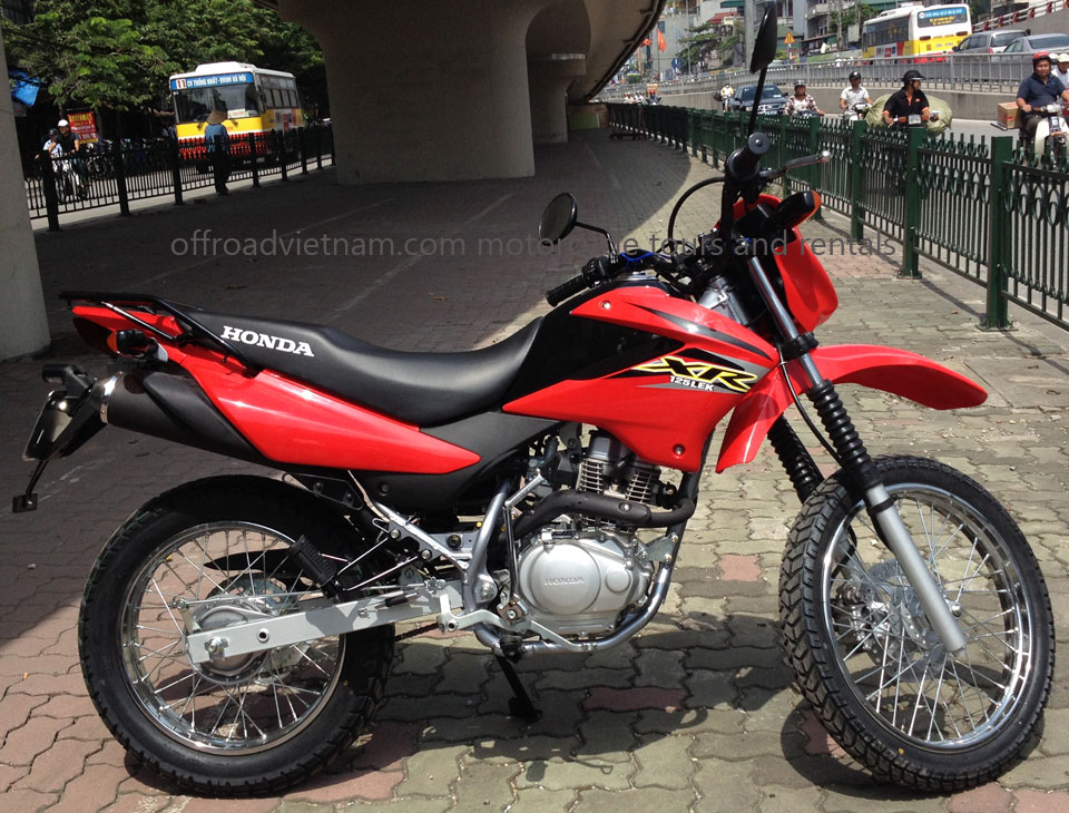 Hanoi Motorbike, Scooter Rental   Honda XR125/150L 150cc. Dirt (trail)