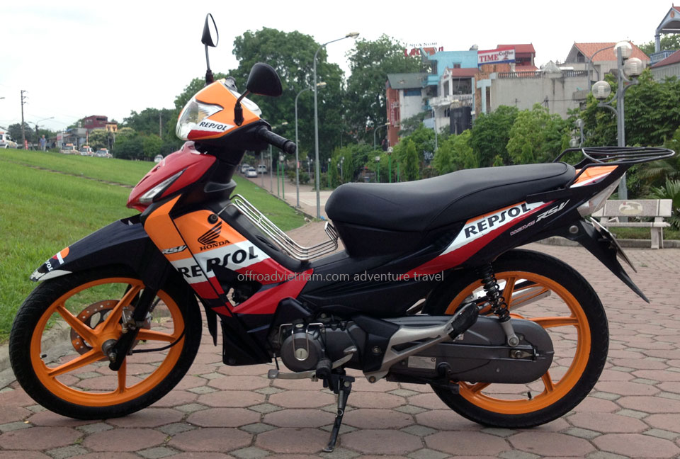 Honda Wave RSX Repsol scooter 100cc 2009 model