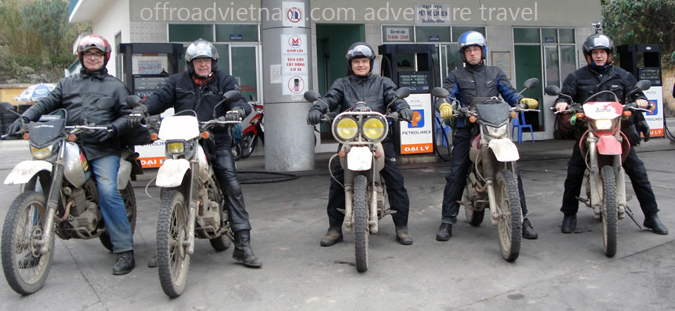 Hanoi Motorbike, Scooter Rental - Testimonials & Reviews: Mr. Serge Limberger and friends rented Honda XR250 dirt bikes