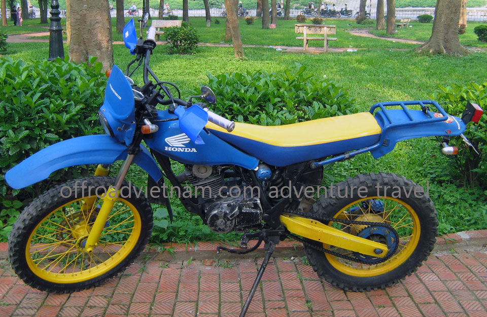 200cc Motorcycles DiscontinuedHanoi Motorbike, Scooter Rental - 200cc Motorcycles: Honda dirt bike TLR200