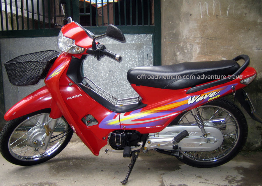 Honda Wave scooter 100cc