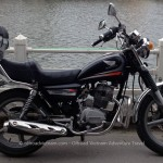 Hanoi Motorbike Rental's off-road motorbike and motorcycle tours, starting from Hanoi and ride Northern Vietnam mountains. Honda CM Master 150cc for rent in Hanoi.