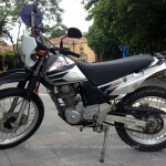 Vietnam off-road motorbike and motorcycle tours, starting from Hanoi and ride Northern Vietnam mountains. Honda SL230 230cc for rent in Hanoi.