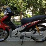 Vietnam off-road motorbike and motorcycle tours, starting from Hanoi and ride Northern Vietnam mountains. Honda Wave 110cc for rent in Hanoi.