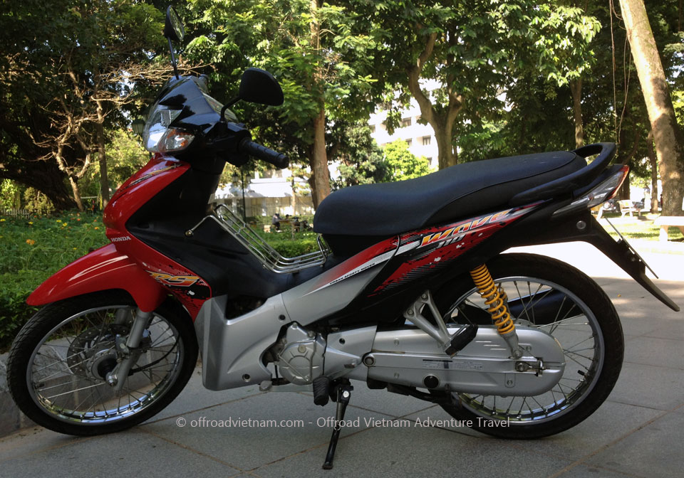 110cc Semi-Automatic Discontinued: Honda semi-automatic scooter Wave RS, S, RSX 110cc