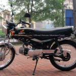Vietnam off-road motorbike and motorcycle tours, starting from Hanoi and ride Northern Vietnam mountains. Honda Win 100cc for rent in Hanoi.