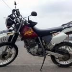 Vietnam off-road motorbike and motorcycle tours, starting from Hanoi and ride Northern Vietnam mountains. Honda XR250 Baja for rent in Hanoi.