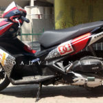 Honda Air Blade 125cc 2013 for rent in Hanoi