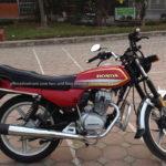 Honda Sport touring CGL125 125cc 2014 for rent in Hanoi