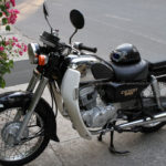 Honda classic cruiser CD Benly 125cc 1997 for rent in Hanoi