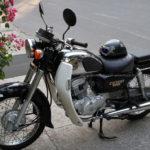 Honda classic cruiser CD Benly 125cc 1997 for rent in Hanoi