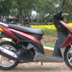 Honda Click 110cc 2008 for rent in Hanoi