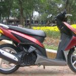 Honda Click 110cc 2008 for rent in Hanoi