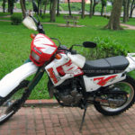 Honda dirt bike XL Degree 250cc 2004 for rent in Hanoi