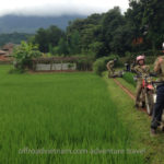 Dirt biking tour in Mai Chau, Northern Vietnam