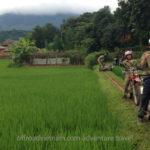 Dirt biking tour in Mai Chau, Northern Vietnam