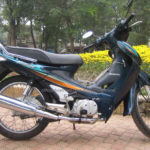 Honda Future 110cc 2002 for rent in Hanoi. This is the first series of Future.