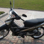 Honda Future 125cc 2009 for rent in Hanoi. This is the third series of Future.