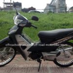 Honda Wave Alpha 100cc 2012 scooter for rent in Hanoi