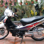 Honda Future 125cc 2005 for rent in Hanoi. This is the second series of Future.