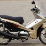 Honda Wave RSX AT 110cc 2009 for rent in Hanoi. This is the fully automatic version of Honda Wave 110cc.