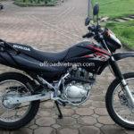 Honda dirt bike XR125 125cc 2014 for rent in Hanoi