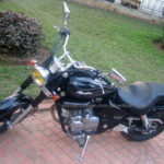 Honda cruiser Phantom 200cc 2010 for rent in Hanoi