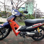 Honda Wave RSV 100cc 2005 for rent in Hanoi. This is the first model of Wave RSV series.