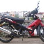 Honda Wave RSX 100cc 2007 for rent in Hanoi. This is the first model of Wave RSX series.