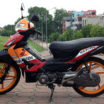 Honda Wave RSV 100cc 2007 for rent in Hanoi. This is the second model of Wave RSV series.