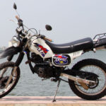 Yamaha Serrow 125cc dirt bike for rent in Hanoi