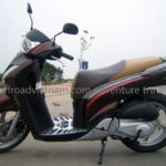 Honda SHi125 125cc 2010 automatic scooter for rent in Hanoi