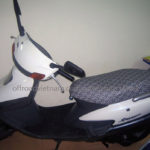 Honda Spacy 125cc 1997 automatic scooter for rent in Hanoi, Northern Vietnam