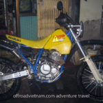 Suzuki DR250 250cc 2003 trail bike for rent in Hanoi, Northern Vietnam