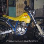 Suzuki DR250 250cc 2003 trail bike for rent in Hanoi, Northern Vietnam