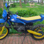 Honda TLR200 200cc dirt bike for rent in Hanoi, Northern Vietnam