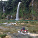 Ban Gioc waterfalls of Vietnam motorbike tours